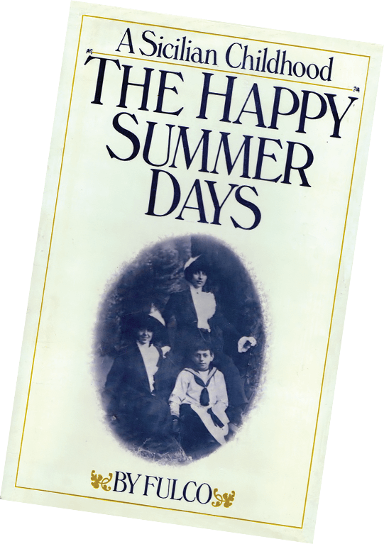Front Cover of The Happy Summer Days, Verdura's memoir of his childhood in Sicily