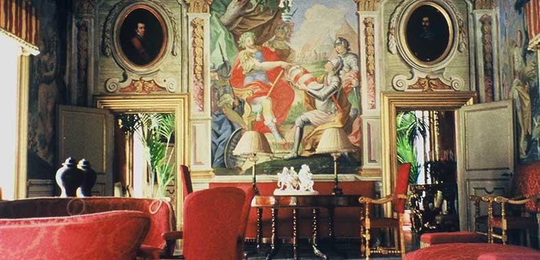 Interior View, Villa Niscemi
