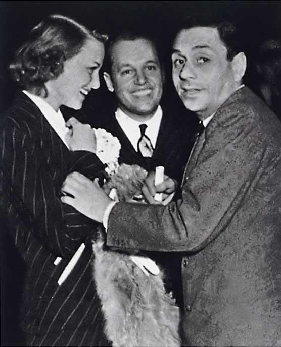 Jean Howard, Paul Flato and Fulco di Verdura, 1937