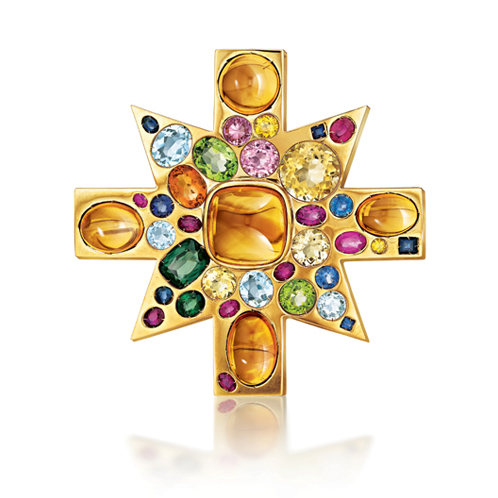 Verdura-Jewelry-Ravenna-Brooch-Gold