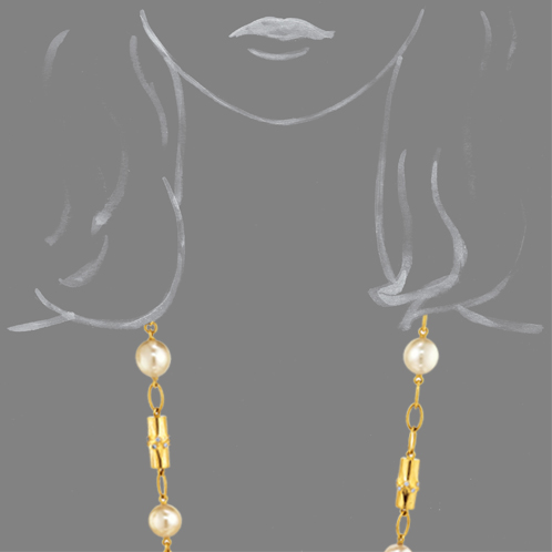 Verdura-Jewelry-Bamboo-Bead-Necklace-Pearl-Scale-Rendering