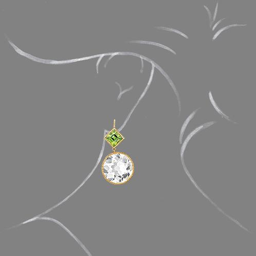 Verdura-Jewelry-Byzantine-Round-Drop-Earrings-White-Topaz-Peridot-Scale-Rendering