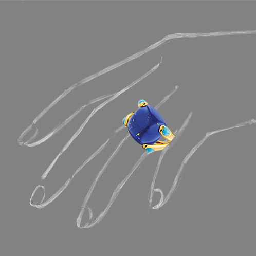 Verdura-Jewelry-Candy-Ring-Lapis-Scale-Rendering