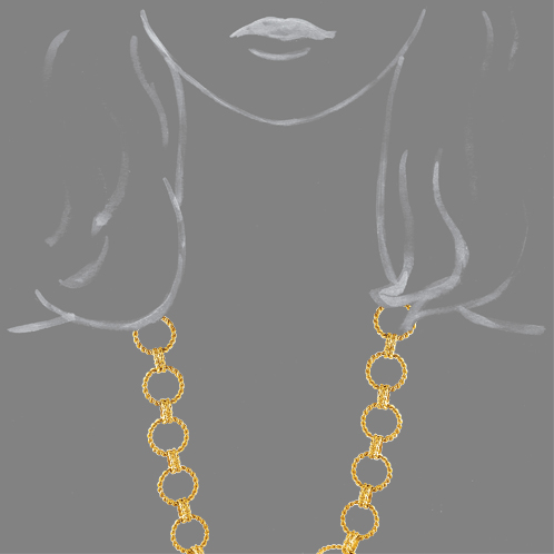Verdura-Jewelry-Circle-Rope-Link-Necklace-Gold-Scale-Rendering