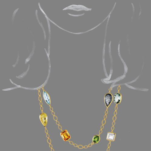 Verdura-Jewelry-Confetti-Necklace-Gold-Scale-Rendering
