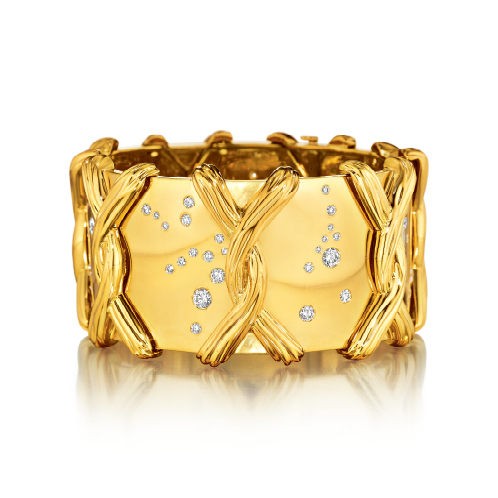Verdura-Jewelry-Constellation-Bracelet-Gold-Diamond