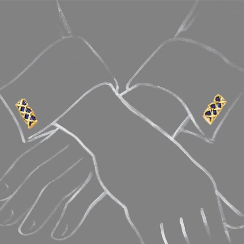 Verdura-Jewelry-Criss-Cross-Bar-Cufflinks-Scale-Rendering