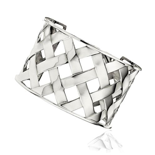 Verdura-Jewelry-Criss-Cross-Cuff-White-Gold
