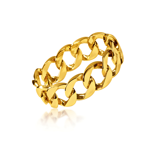 Verdura-Jewelry-Curb-Link-Bracelet-Gold