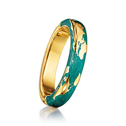 Verdura-Jewelry-Day-Bangle-Gold-Diamond-Enamel
