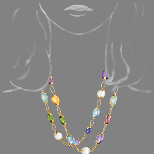 Verdura-Jewelry-Fulco-Necklace-Scale-Rendering