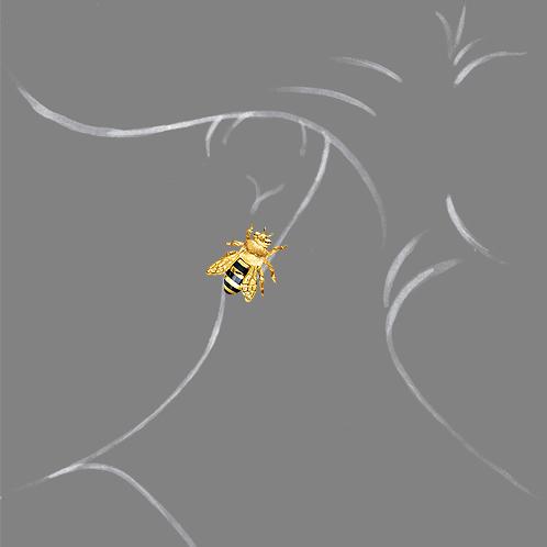 Verdura-Jewelry-Honeybee-Earstuds-Scale-Rendering