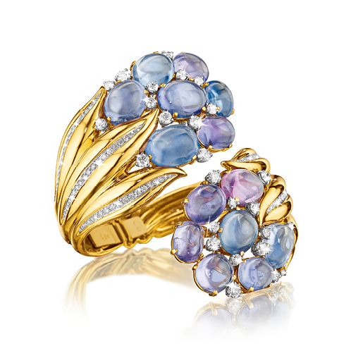 Verdura-Jewelry-Hyacinth-Bracelet-Gold-Sapphire-Diamond