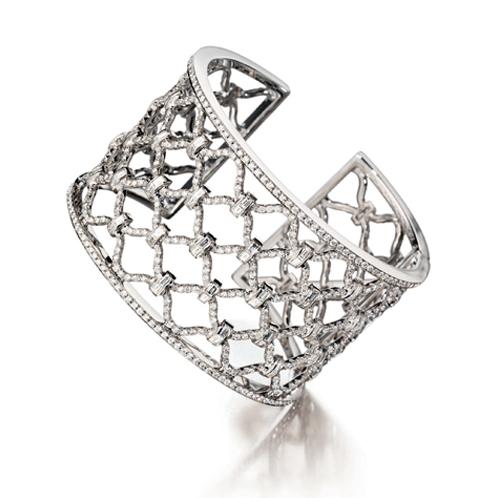 Verdura-Jewelry-Kensington-Cuff-Diamond-White-Gold