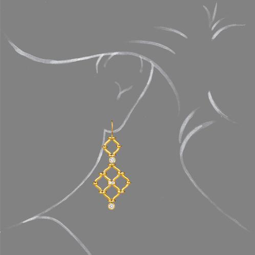 Verdura-Jewelry-Kensington-Earrings-Gold-Diamond-Scale-Rendering