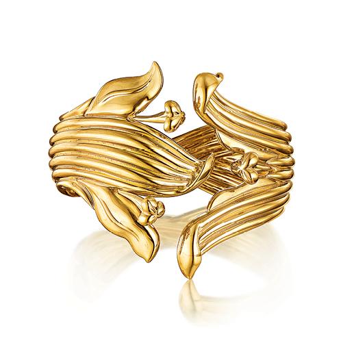Verdura-Jewelry-Lily-Bracelet-Gold