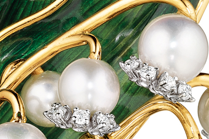 Verdura-Jewelry-Lily-of-the-Valley-Broochjpg