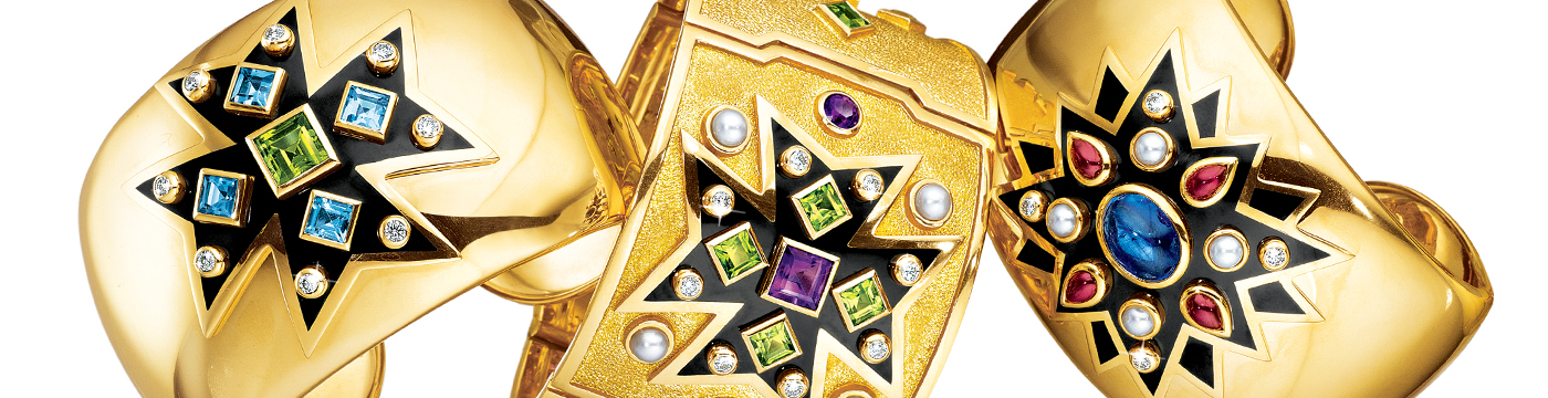 Verdura-Jewelry-Maltese-Cross-Cuff-Bracelet-Sunburst-Banner