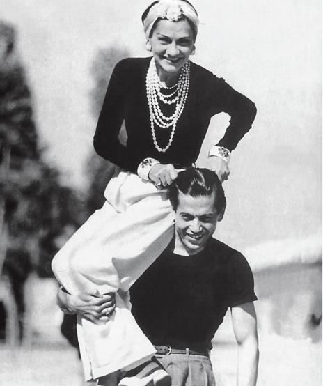 Verdura-Jewelry-Maltese-Cross-Cuff-Coco-Chanel-Serge-Lifar-1937-Portrait