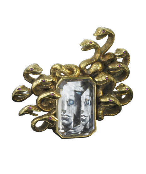 Verdura-Jewelry-Medusa-Brooch