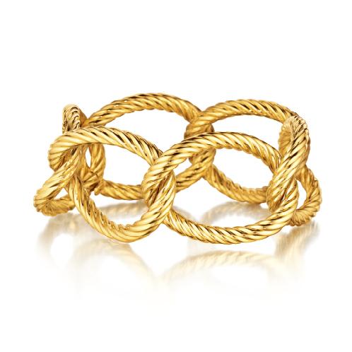 Verdura-Jewelry-Oval-Link-Bracelet-Gold