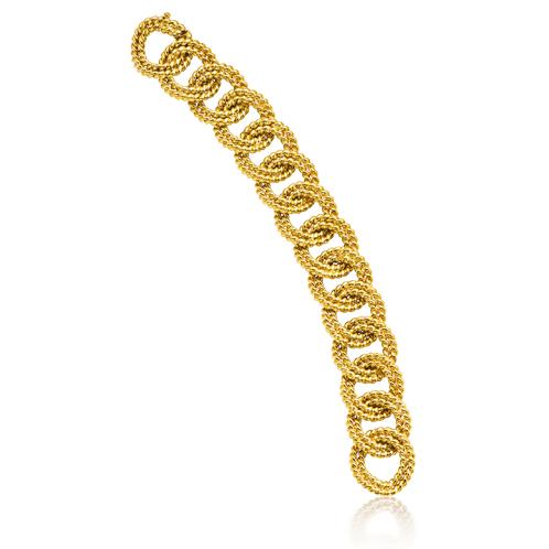Verdura-Jewelry-Rope-Link-Bracelet-Gold