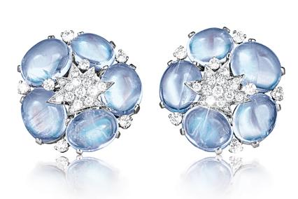 Verdura-Jewelry- Stardust-Cluster-Earclips