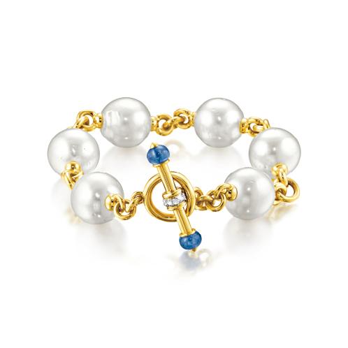 Verdura-Jewelry-Toggle-Bracelet-Gold-Pearl-Sapphire