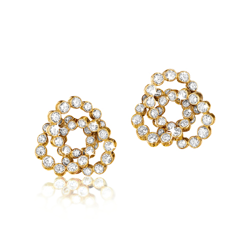 Verdura-Jewelry-Trefoil-Earclips-Diamond-Gold