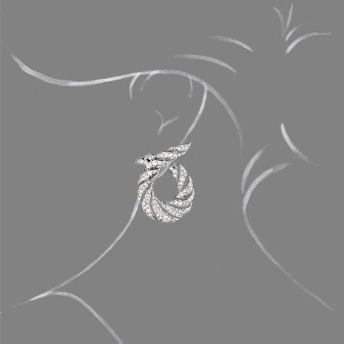 Verdura-Jewelry-Twisted-Horn-Earclips-Diamond-Scale-Rendering