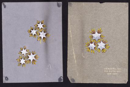 Verdura-Jewelry-Vintage-Pleiades-Brooch-Sketch
