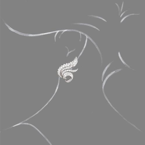 Verdura-Jewelry-Wing-Earclips-Diamond-Scale-Rendering