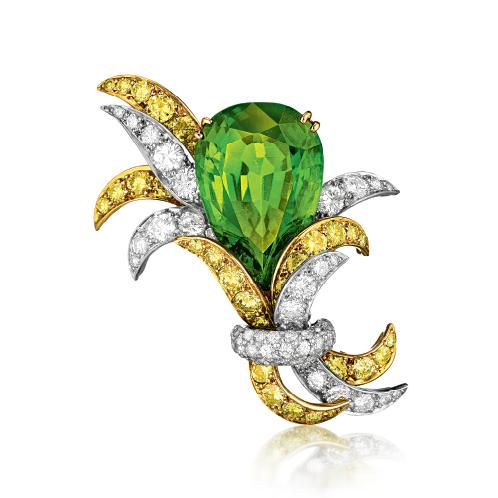 Verdura-Jewelry-Vintage-Nosegay-Brooch