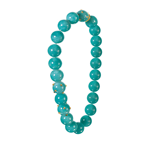 Verdura-Jewelry-Studded-Bead-Necklace-Amazonite-and-gold