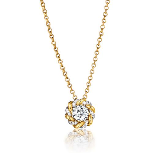 Verdura-Jewelry-Solitaire-Turban-Pendant-Necklace-Yellow-Gold