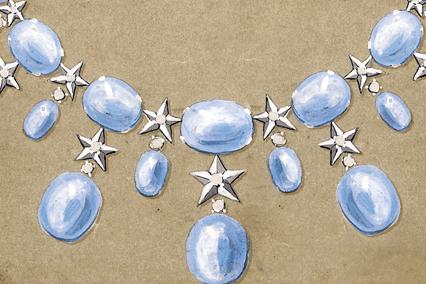 Verdura-Jewelry-Stardust-Necklace-sketch