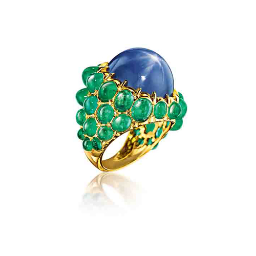 Verdura-Jewelry-Mosaic-Ring-Paraiba-Amethyst (2)