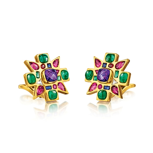 Baby-Byzantine-Earclips_Amethyst-Emerald_19_498x498_acf_cropped