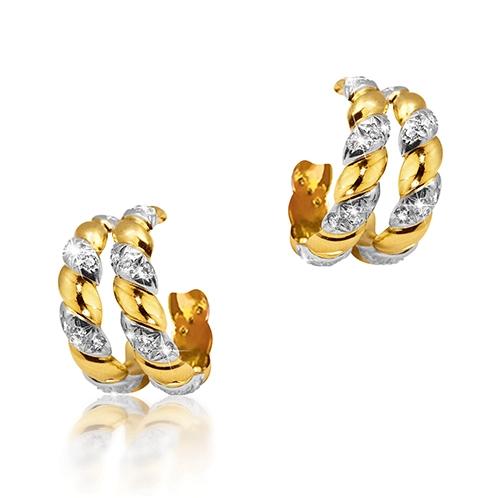 Double-Hoop-Torsade-Earrings_Gold-Diamond